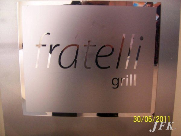 Indoor Vinyl project, bespoke & digital for our client FRATELLI