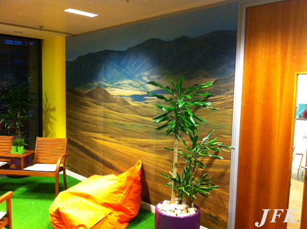 Indoor Vinyl project, bespoke and digital for our client E BOOKERS